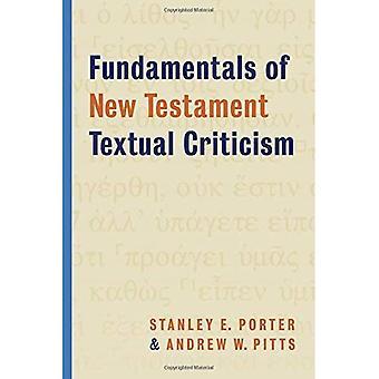 Grondbeginselen van het nieuwe Testament tekstkritiek