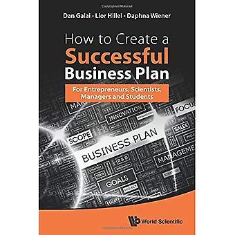 Hoe maak je een succesvolle businessplan: voor ondernemers, Managers en wetenschappers en studenten