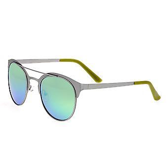 Race Phoenix titane Polarized lunettes de soleil - argent/bleu vert
