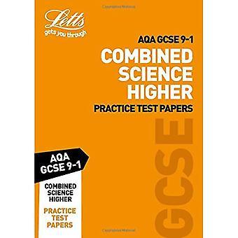 AQA GCSE 9-1 combiné des épreuves sciences plus pratique (succès de 9-1 révision Letts GCSE) (succès de 9-1 révision Letts GCSE)
