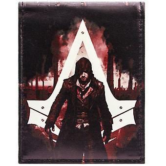 Assassins Creed Jacob Frye ID & kaart Bi-Fold portemonnee