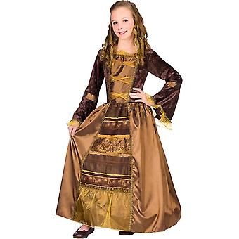 Medieval Lady Child Costume
