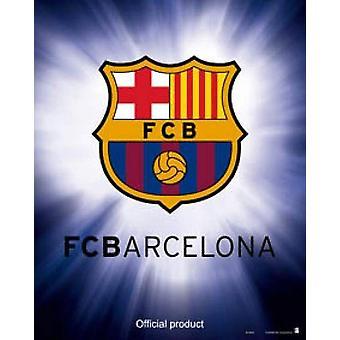 FC Barcelona Juliste Club Coat of Arms Pieni muoto 50 x 40 cm