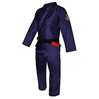Fuji Sports Mens All Around Jiu Jitsu Gi -Navy Blue