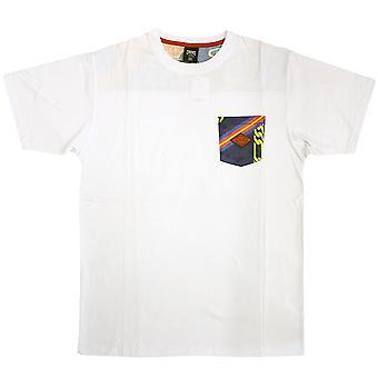 Crooks & Castles Regalia T-Shirt White Navy Multi