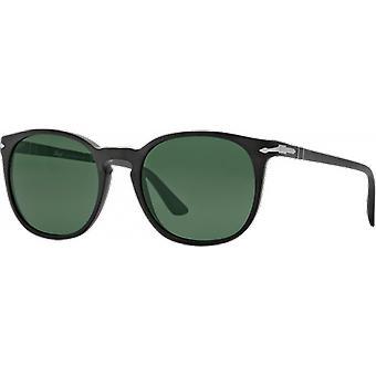 3007S Black Matt green polarized persol
