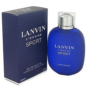 Lanvin l'homme sport eau de toilette spray by lanvin 459163 100 ml