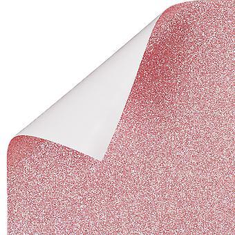 TRIXES Pink Glitter Vinyl Sheet Permanent Wallpaper 1350mm x 440mm Roll TRIXES Pink Glitter Vinyl Sheet Permanent Wallpaper 1350mm x 440mm Roll TRIXES Pink Glitter Vinyl Sheet Permanent Wallpaper 1350mm x 440mm Roll TRIXE