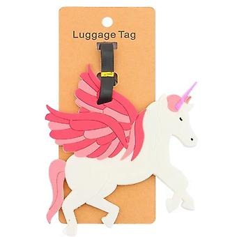 Baggage tag-Unicorn #3