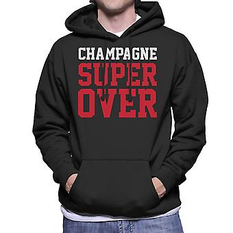 England Cricket World Cup 2019 Champagne Super Over Men's Hooded Sweatshirt