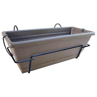 Nortene Countertop Planter With Metal Stand 62X24X20 Cm