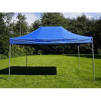 Vouwtent/Easy up tent FleXtents PRO 3x4,5m Blauw