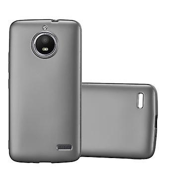Cadorabo tapauksessa Motorola MOTO E4 tapauksessa tapauksessa kansi - matkapuhelin tapauksessa joustava TPU silikoni - silikoni tapauksessa suojakansi Ultra Slim Soft Takakansi Tapauksessa Puskurin