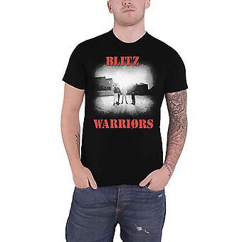 Blitz T Shirt Warriors Band Logo new Official Mens Black