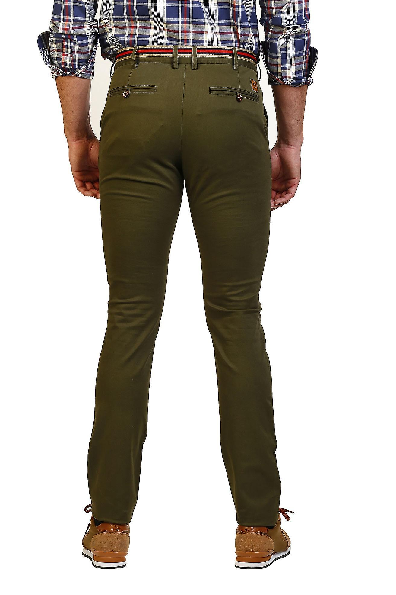 Pantalon Hombre The Time Of Bocha JI1PPOLO-192-Verde 715