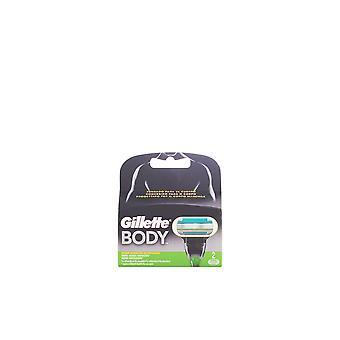 Gillette Body Cargador 2 Recambios Férfiaknak