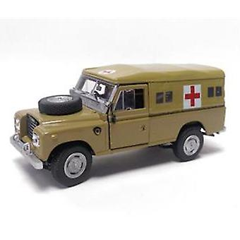 Oxford Diecast 1:43 Scale Cararama Land Rover Desert