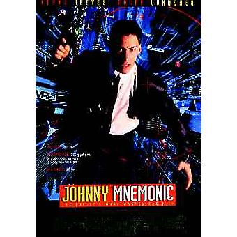 Johnny Mnemonic Original Cinema Poster
