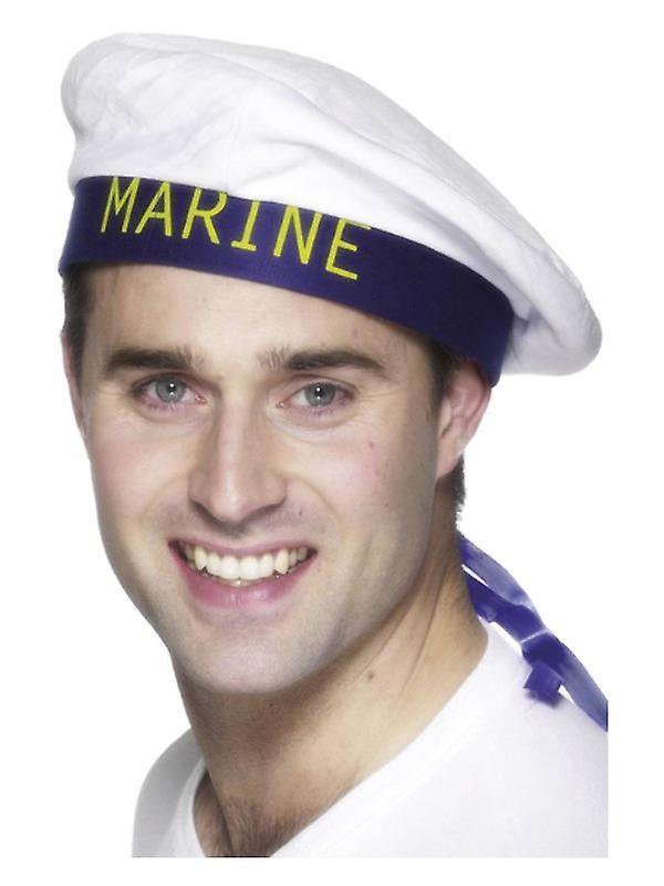 Mens Marine Sailor's Hat Fancy Dress accessoire
