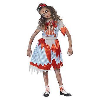 Ragazze zombie Paese Ragazza Halloween Abito Fantasia Costume