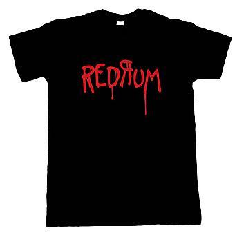 Redrum Horror Shining Movie Inspired, Mens T-Shirt - Gift Him Dad