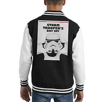 Original Stormtrooper Storm Troopers Day Off Parody Kid's Varsity Jacket