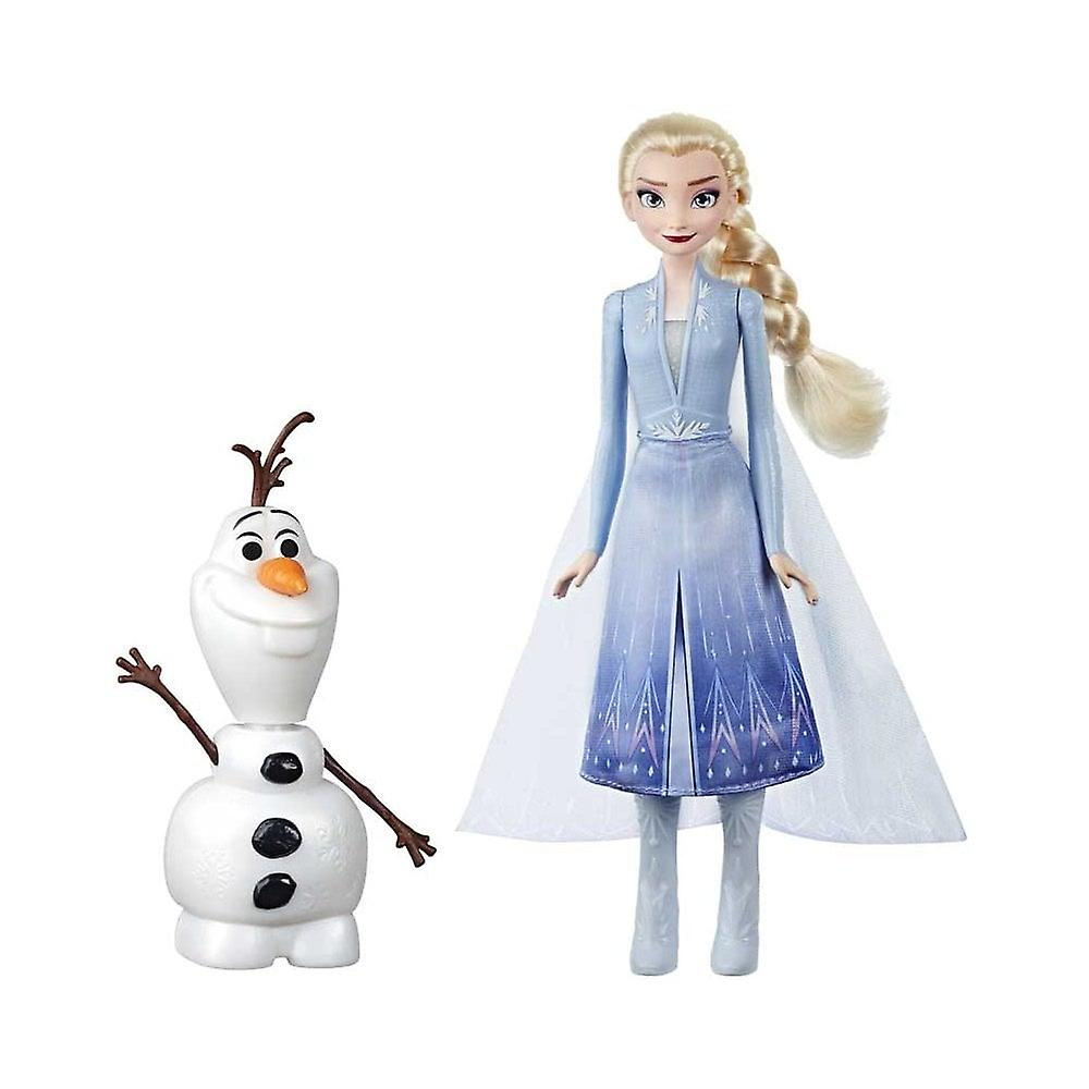 Disney Frozen Frozen 2 Olaf & Elsa Figure Pack Set