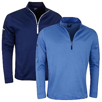 Callaway Golf Mens Stretch Thermal Insulated 1/4 Zip Sweater