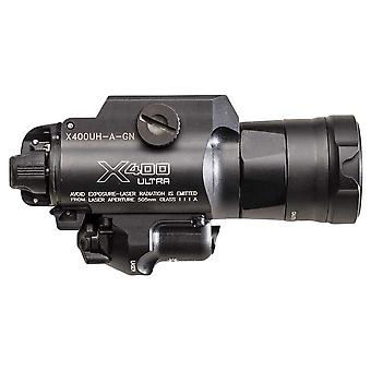 Surefire Green Laser WeaponLight, White LED, Ultra-High 1000 Lumens #X400UH-A-GN