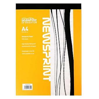 Seawhite Newsprint Paper Pad A4