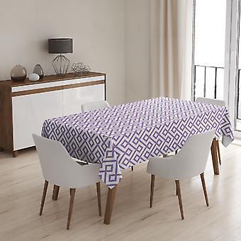 Meesoz Tablecloth - Retro Mosaic Violet