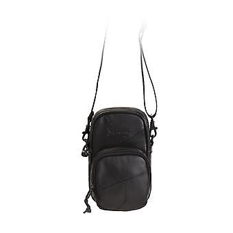 Supreme Patchwork Leather Small Shoulder Bag Black