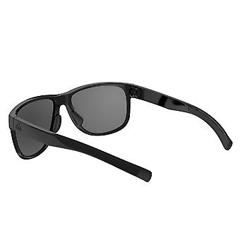 Adidas sport fjädrande solglasögon-polariserad-svart glänsande