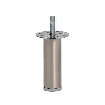 Round stainless Steel Furniture leg 8 cm (M8)