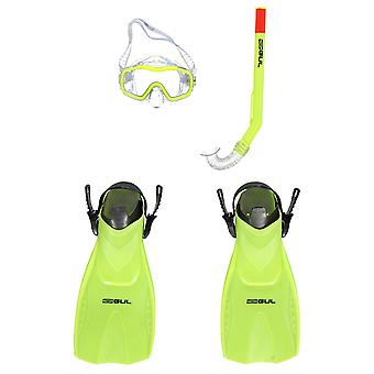 Gul Unisex Mask Snorkel and Fin Set Childrens