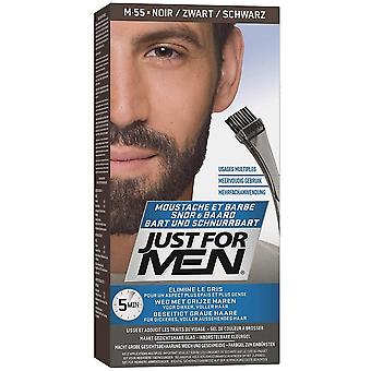 Just For Men Brush In Facial Hair Colour - M55 Real Black