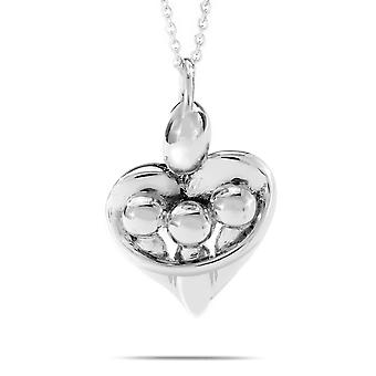 Hugs of Love Sterling Silver -Parent with Three Children