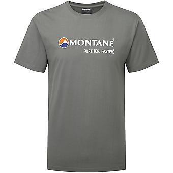 T-Shirt Logo montagnarde-gris Stratus