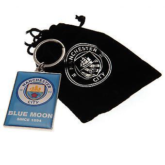 Llavero de lujo del Manchester City FC
