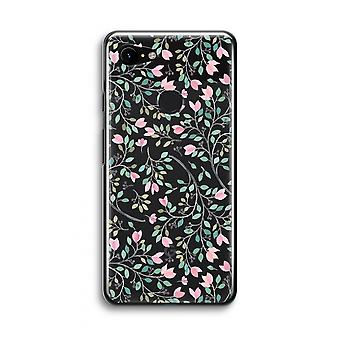 Google Pixel 3 Transparent Case (Soft) - Dainty flowers