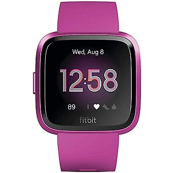 Fitbit Versa Lite Health & Fitness Smartwatch with Heart Rate, 4+ Day Battery & Water Resistance - Mulberry