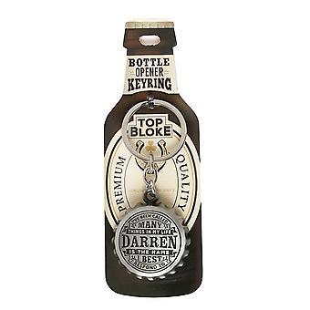 History & Heraldry Keyring - Darren Bottle Opener