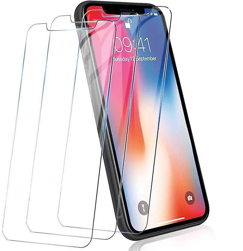 iCoverCase | iPhone 11 Pro | 2-Pack Skärmskydd | Härdat Glas