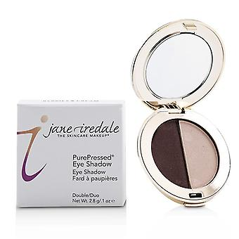Jane Iredale Purepressed Duo Eye Shadow - Berries & Cream - 2.8g/0.1oz