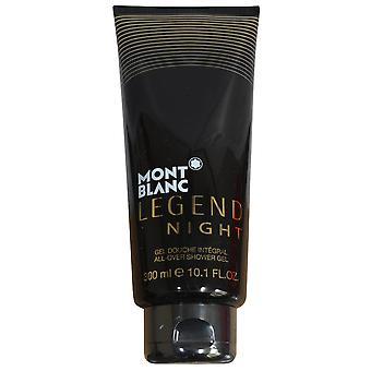 Mont Blanc Legend Night for Men All Over Shower Gel 300ml