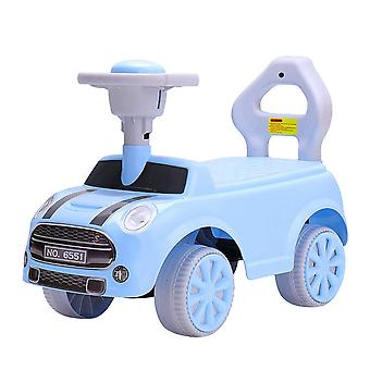 RideonToys4u Foot to Floor Push Along Ride on Car Blue Ages 2-4 Years