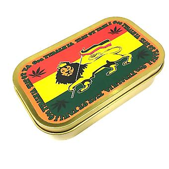 Tobacco case with africa