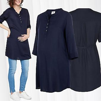 Mamalicious maternity tunic shirt pregnancy wear casual dress baby belly