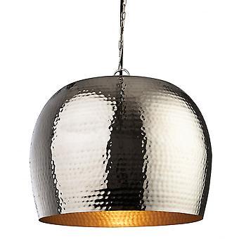 Firstlight Bistro Nickel Metal Pendant Light