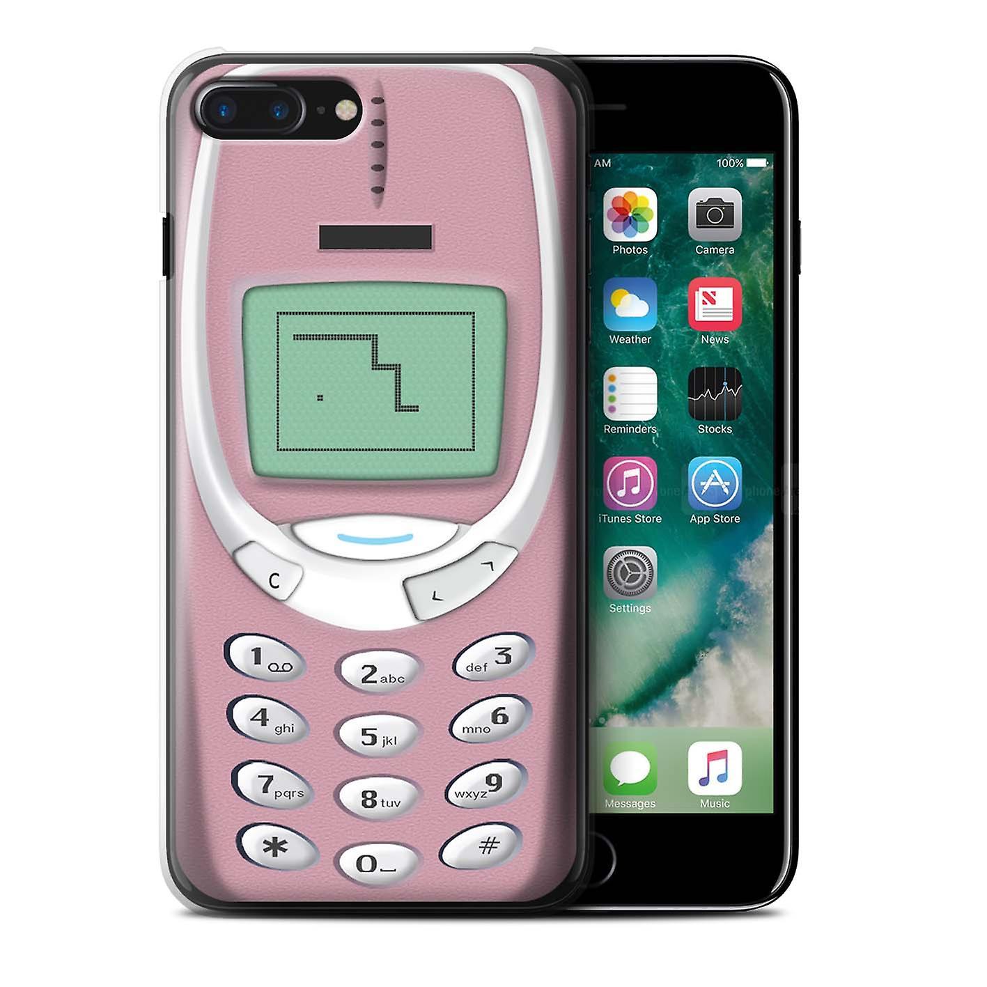 Stuff4 Case Cover For Apple Iphone 7 Plus Pink Nokia 3310 Retro Phones Fruugo Za